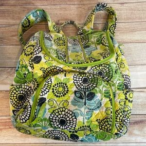 Vera Bradley Limes Up backpack book bag retired